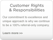 customers rights & responsibilities