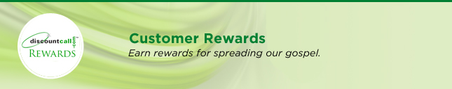 DiscountCall Customer Rewards