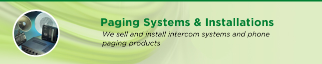 Paging Systems & Installations