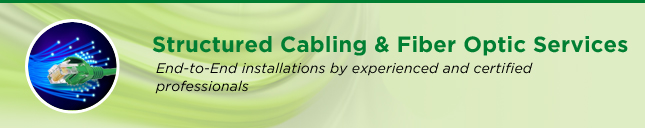 Structured Cabling & Fiber Optic Services