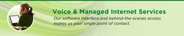 Voice & Managed Internet Services